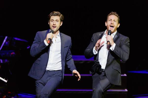 Aaron Tveit, David Harris