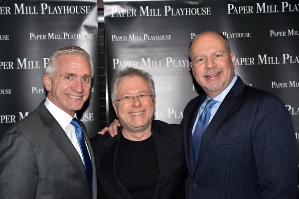 Mark S. Hoebee, Alan Menken and Todd Schmidt