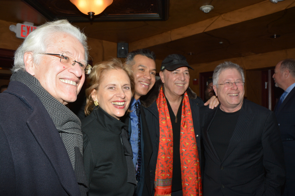 Jerry Zaks, Faye Fisher, Sergio Trujillo and Alan Menken