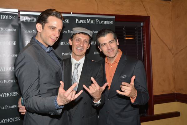 Nick Cordero, Ted Brunetti and Joey Sorge