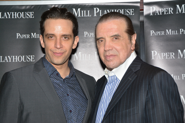 Nick Cordero and Chazz Palminteri