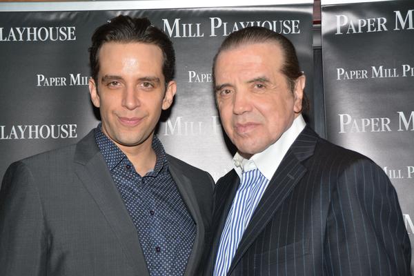 Nick Cordero and Chazz Palminteri