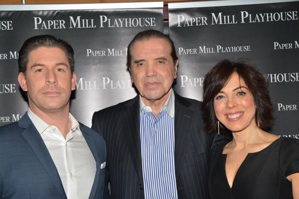 Richard H Blake, Chazz Palminteri and Lucia Giannetta