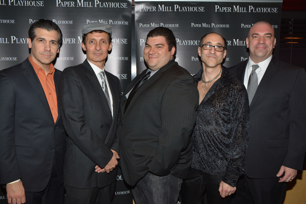 Joey Sorge, Ted Brunetti, Michael Barra, Jonathan Brody and Paul Salvatoriello