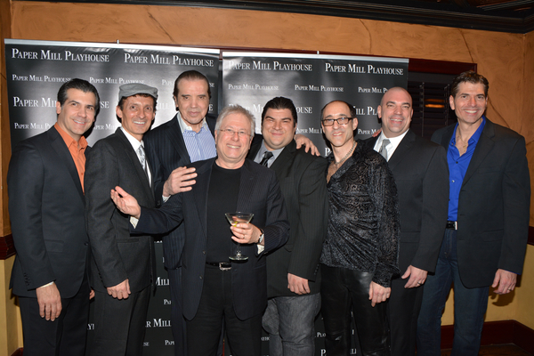Joey Sorge, Ted Brunetti Chazz Palminteri Alan Menken, Michael Barra, Jonathan Brody, Paul Salvatoriello and  Joe Barbara