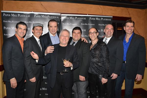Joey Sorge, Ted Brunetti Chazz Palminteri Alan Menken, Michael Barra, Jonathan Brody, Paul Salvatoriello and  Joe Barbara