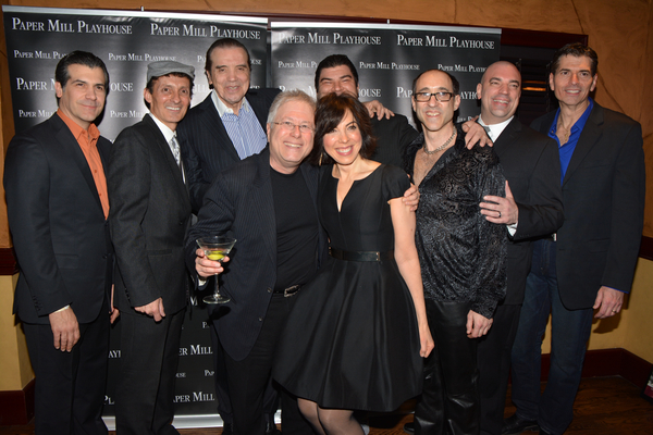 Joey Sorge, Ted Brunetti Chazz Palminteri Alan Menken, Lucia Giannetta,  Michael Barra, Jonathan Brody, Paul Salvatoriello and  Joe Barbara