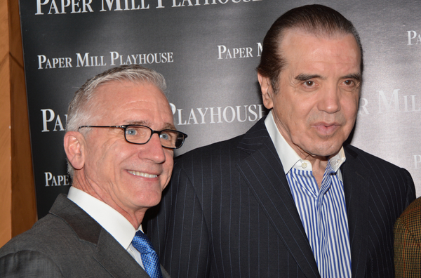 Mark S. Hoebee and Chazz Palminteri