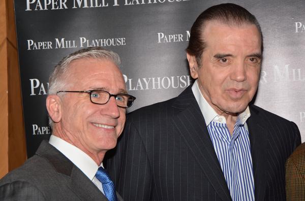Mark S. Hoebee and Chazz Palminteri