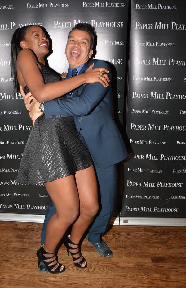 Coco Jones and Sergio Trujillo