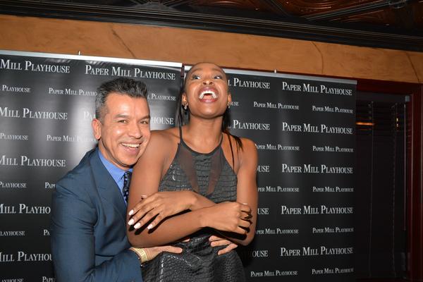 Sergio Trujillo and Coco Jones