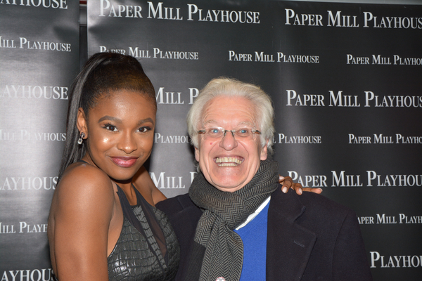 Coco Jones and Jerry Zaks