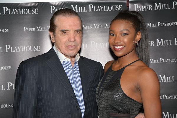 Chazz Palminteri and Coco Jones