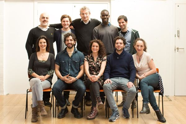 Photo Flash: In Rehearsal for NOTMOSES at Arts Theatre; Full Company Announced!