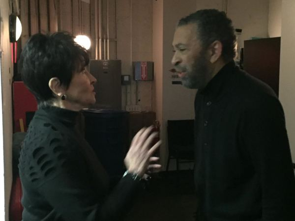 Photo Flash: Chita Rivera Visits MAURICE HINES TAPPIN' THRU LIFE