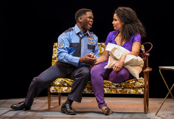 Jonathan Butler-Duplessis as ''Eddie Souther'' and Stephanie Umoh as ''Deloris Van Cartier''