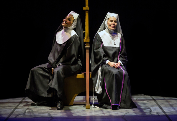 Stephanie Umoh as ''Deloris Van Cartier'' and Hollis Resnik as ''Mother Superior''