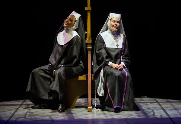 Stephanie Umoh as ''Deloris Van Cartier'' and Hollis Resnik as ''Mother Superior''
