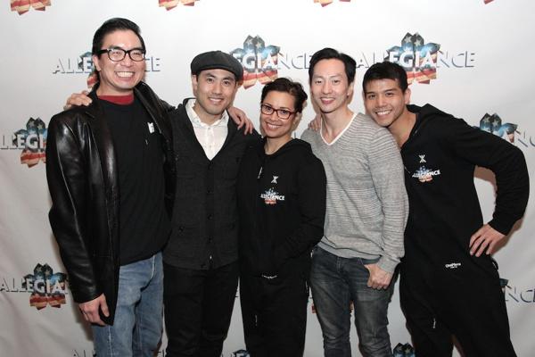 Greg Watanabe, Marcus Choi, Lea Salonga, Michael K. Lee and Telly Leung