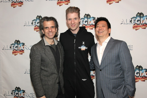 Marc Acito, Lorenzo Thione and Jay Kuo