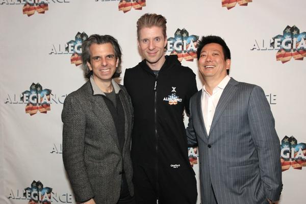 Marc Acito, Lorenzo Thione and Jay Kuo Photo