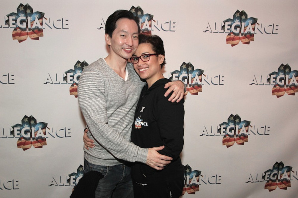 Michael K. Lee and Lea Salonga