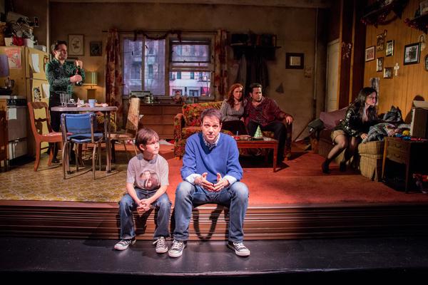 Nico Bustamante and Ralph Macchio (foreground); Mario Cantone, Joli Tribuzio, Johnny  Photo