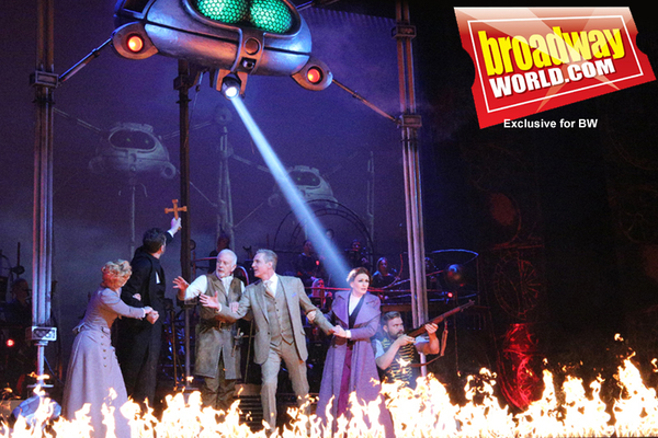 Photo Coverage: First Look at THE WAR OF THE WORLDS at the Dominion Theatre