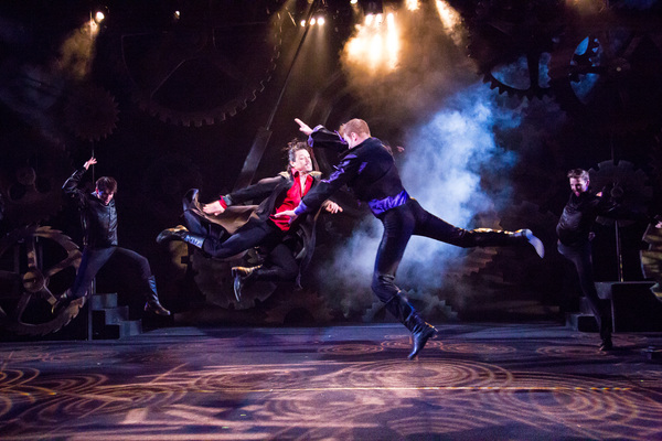 Ryan Sellers as Tybalt and Philip Fletcher as Mercutio
