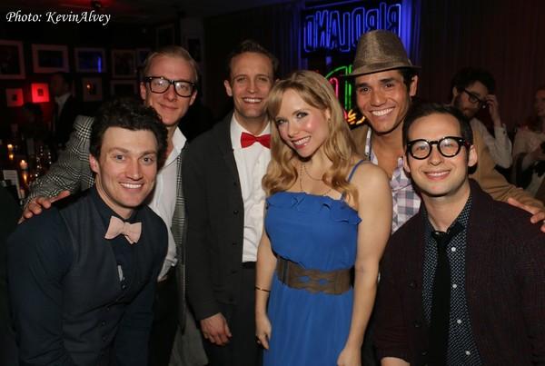 Photo Flash: Original Cast of THE NUTTY PROFESSOR Reunites at Birdland