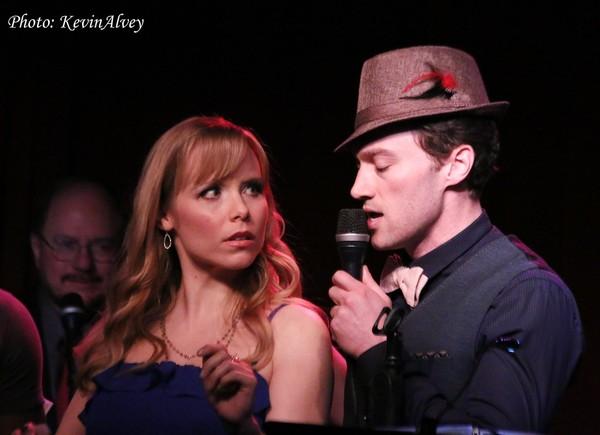 Marissa McGowan and Bryce Pinkham