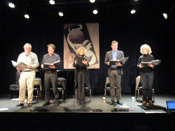 Photo Flash: Alison Fraser, Robert Petkoff and More in GTG/Project Shaw's THE MAN OF DESTINY
