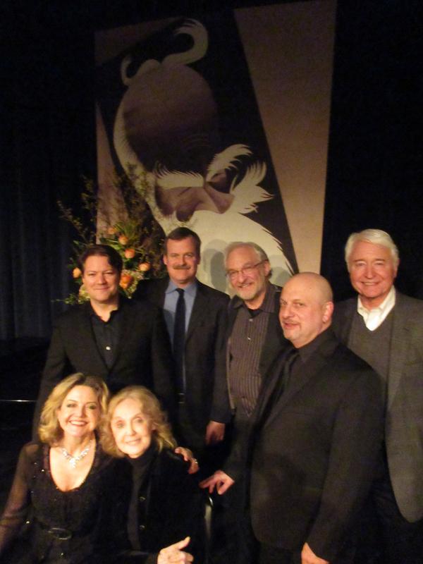 Robert Petkoff, Bradford Cover, Tim Jerome, Henry Aronson, J.R. Sullivan, Alison Fraser and Charlotte Moore