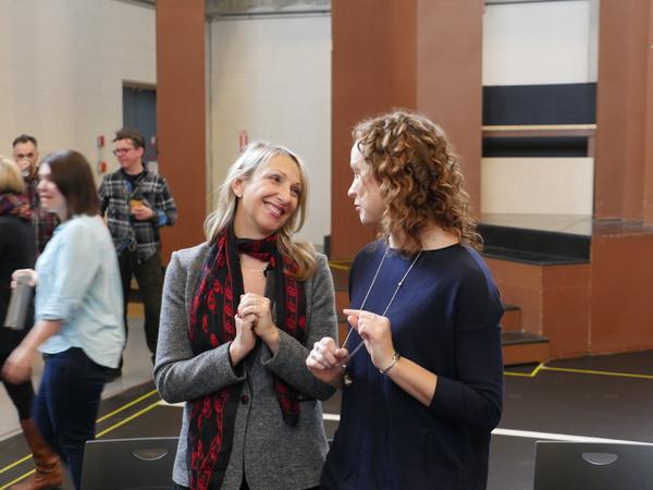 Donna Feore and Dayna Tietzen (Cassie)