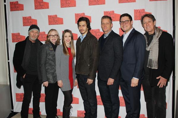 Ed Harris, Amy Madigan, Taissa Farmiga, Nat Wolff, Paul Sparks, Rich Sommer and Larr Photo