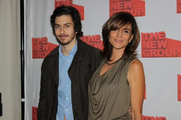 Nat Wolff and Polly Draper