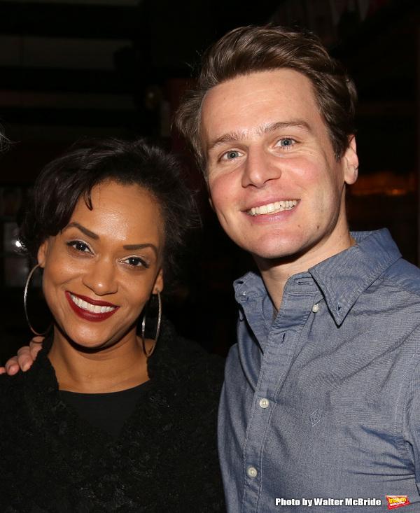 Rema Webb and Jonathan Groff