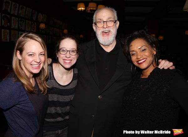 Jenni Barber, Alyse Alan Louis, William Finn and Rema Webb