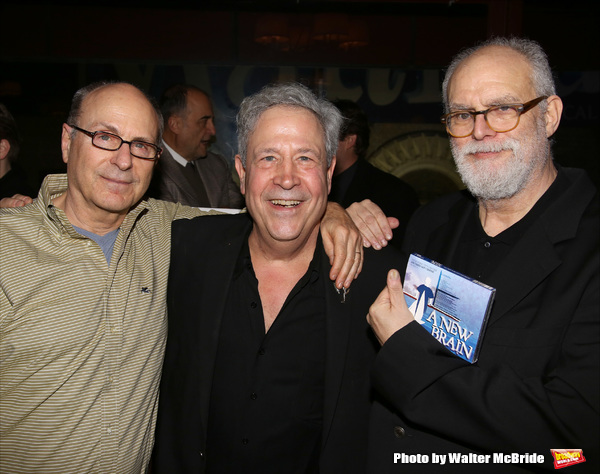 James Lapine, Jeffrey Lesser and William Finn