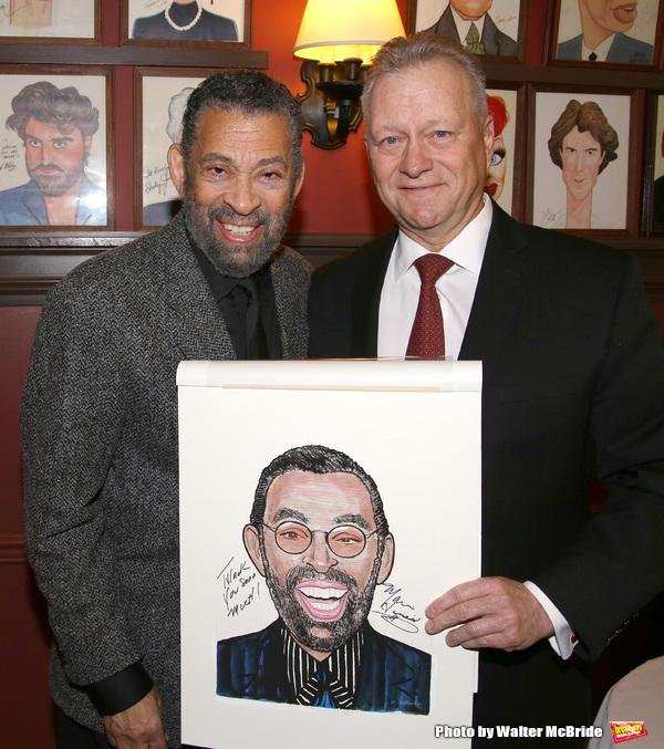 Maurice Hines with Max Klimavicius