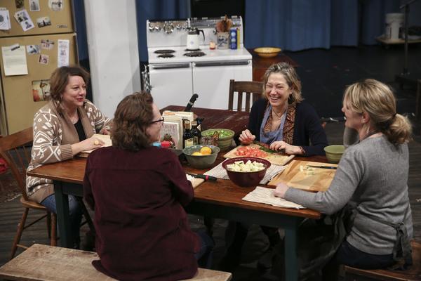Amy Warren, Maryann Plunkett, Meg Gibson, and Lynn Hawley