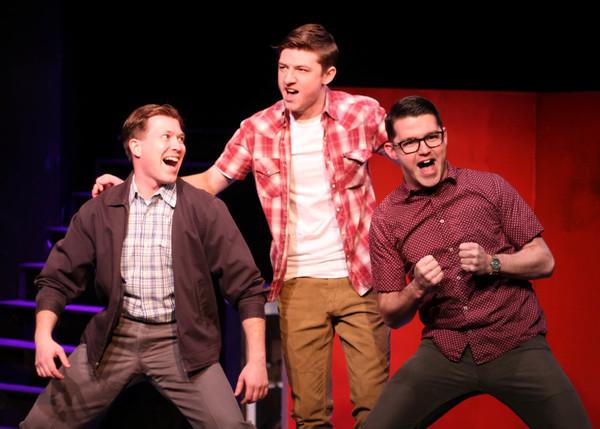 Paul Brennan III (Eddie Birdlace), Sam Hay (Boland), Andy Massey (Bernstein)