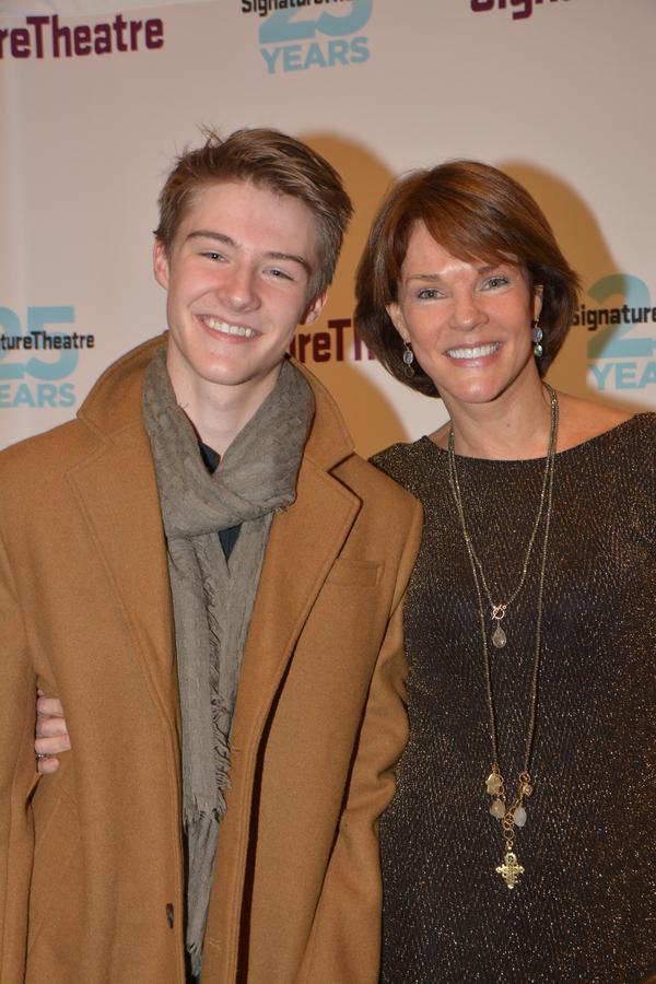 Conor Donovan and Carolyn McCormick