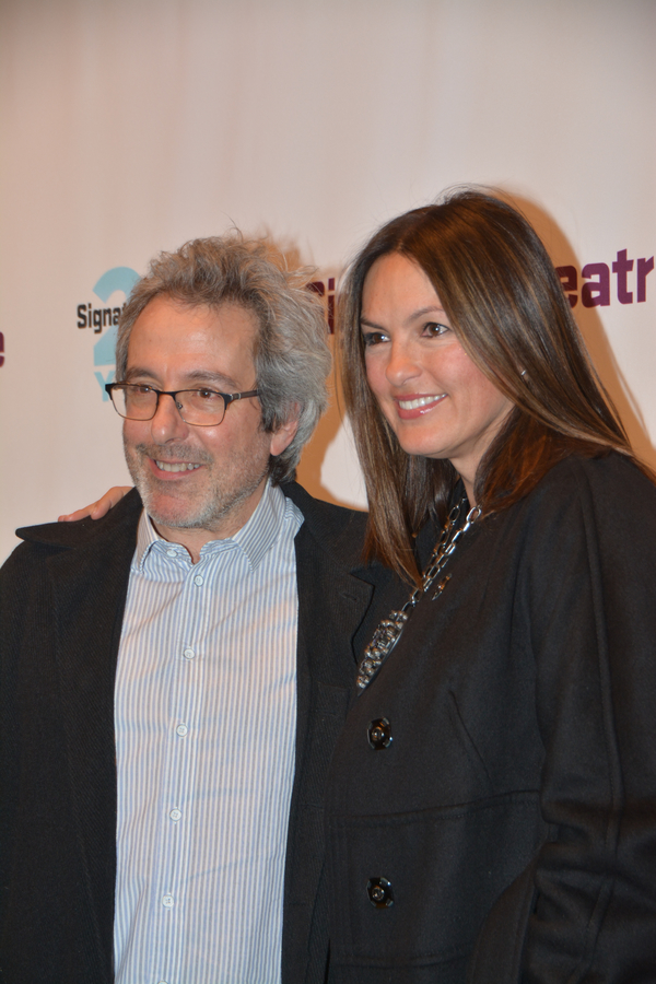 Warren Leight and Mariska Hargitay