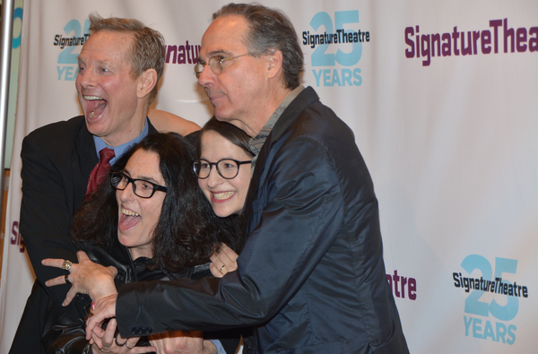 Bill Irwin, Tina Landau, Shaina Taub and David Shiner