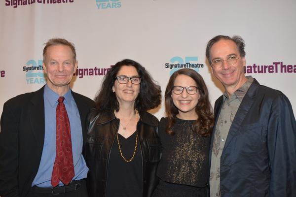 Bill Irwin, Tina Landau, Shaina Taub and David Shiner Photo