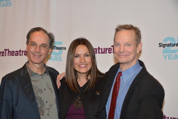 David Shiner, Mariska Hargitay and Bill Irwin