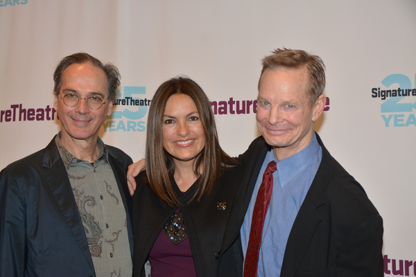 David Shiner, Mariska Hargitay and Bill Irwin