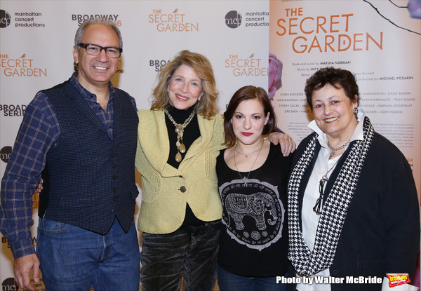 Photo Coverage: THE SECRET GARDEN's Star-Studded Concert Cast Meets the Press!