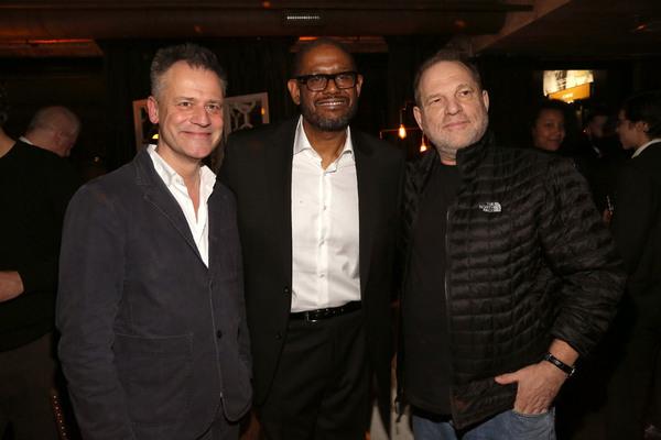 Michael Grandage, Forest Whitaker, Harvey Weinstein